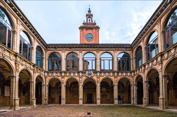 Archiginnasio, Bologna, Italy - The Incredibly Long Journey
